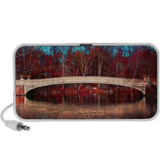 Central Park Rowboat Bridge, NYC Mp3 Speaker