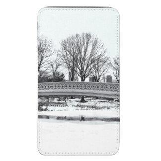 Central Park's Bow Bridge Photo Galaxy S5 Pouch