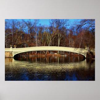 Central Park's Bow Bridge Photo Print