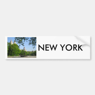 Central Park Skyline Bumper Stickers