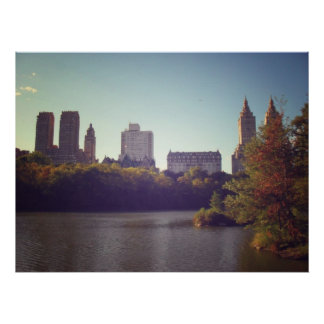 Central Park Skyline, Late Summer, NYC, All Sizes Posters