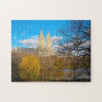 Central Park Skyline New York. Jigsaw Puzzle