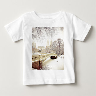 Central Park Snow - Winter New York Baby T-Shirt