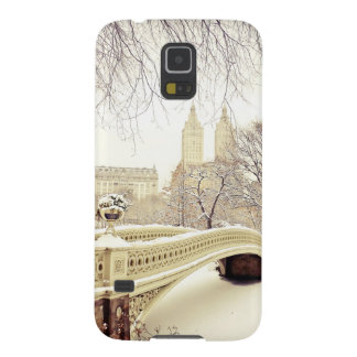 Central Park Snow - Winter New York Galaxy S5 Covers
