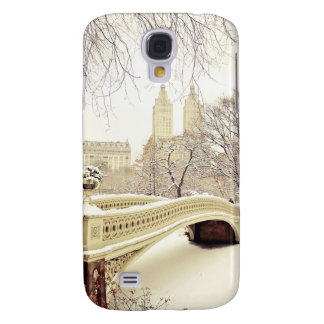 Central Park Snow - Winter New York Galaxy S4 Covers
