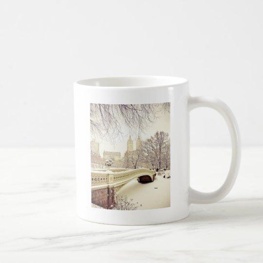 Central Park Snow - Winter New York Coffee Mug