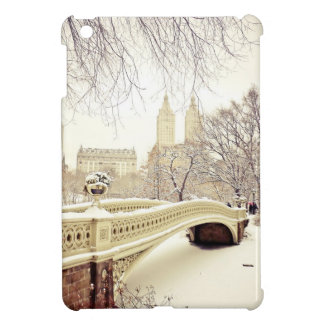 Central Park Snow - Winter New York iPad Mini Covers
