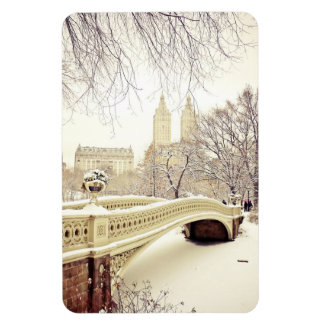 Central Park Snow - Winter New York Magnet