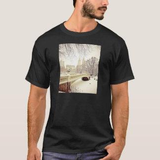 Central Park Snow - Winter New York T-Shirt