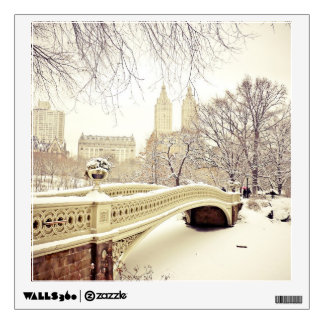 Central Park Snow - Winter New York Wall Decals