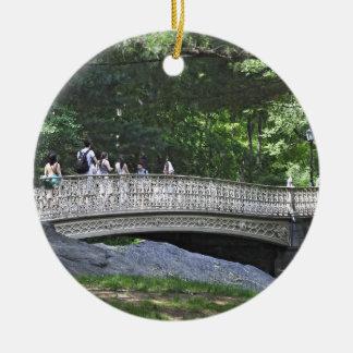 Central Park South- Pinebank Arch Bridge Ceramic Ornament