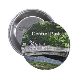 Central Park South- Pinebank Arch Bridge Pinback Button