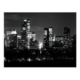 Central Park South Postcard