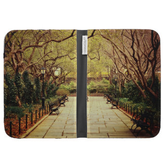 Central Park Spring Path - New York City Kindle 3 Cases