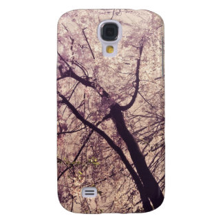 Central Park Spring Trees Galaxy S4 Cases