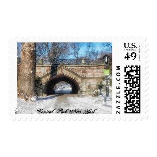"Central Park Stamp Medium, 2.1"" x 1.3"", $0.49"