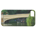 Central Park: Summer Boaters by Bow Bridge iPhone 5 Covers