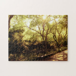 Central Park Summer Sun - New York City Jigsaw Puzzle