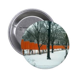 Central Park - The Gates Exhibit 2 Inch Round Button