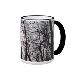 Central Park Trees In Winter Ringer Mug
