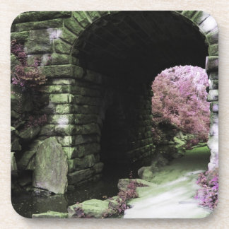 Central Park Tunnel Beverage Coasters