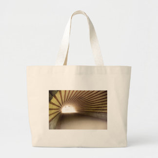 Central Park Tunnel Large Tote Bag