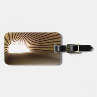 Central Park Tunnel Luggage Tag