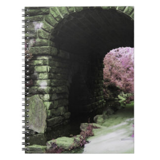 Central Park Tunnel Spiral Note Book