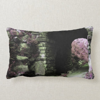 Central Park Tunnel Throw Pillow