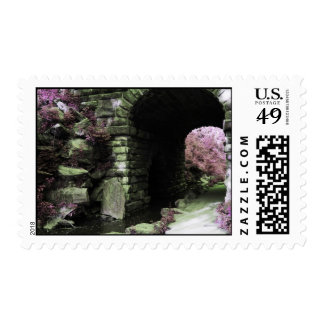 Central Park Tunnel Postage Stamps