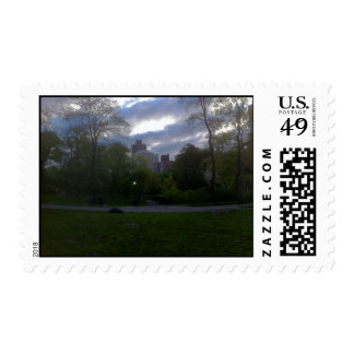 Central Park View Postage