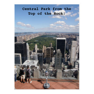 Central Park View Post Card