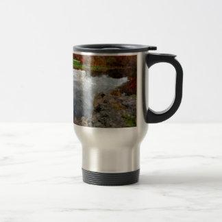 Central Park Watercolor Travel Mug