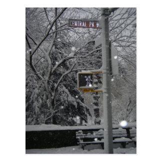 Central Park West Postcard