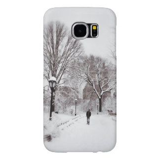 Central Park White Out Samsung Galaxy S6 Case