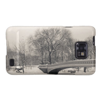 Central Park Winter - Bow Bridge Snow Galaxy SII Covers