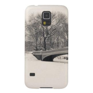 Central Park Winter - Bow Bridge Snow Cases For Galaxy S5