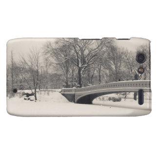 Central Park Winter - Bow Bridge Snow Droid RAZR Case