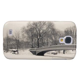 Central Park Winter - Bow Bridge Snow Galaxy S4 Cases