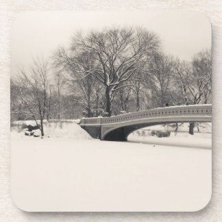 Central Park Winter - Bow Bridge Snow Coaster