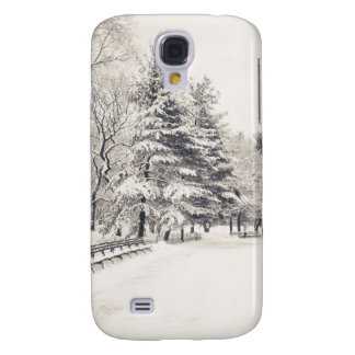 Central Park Winter Path - New York City Galaxy S4 Cover