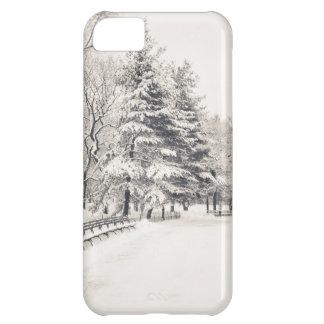 Central Park Winter Path - New York City iPhone 5C Case