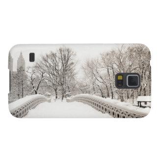 Central Park Winter Romance - Bow Bridge Galaxy S5 Cover