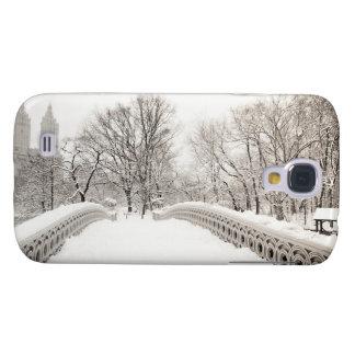Central Park Winter Romance - Bow Bridge Galaxy S4 Cases