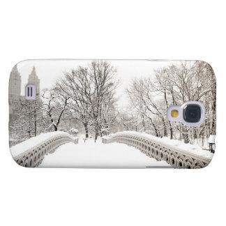 Central Park Winter Romance - Bow Bridge Samsung Galaxy S4 Covers