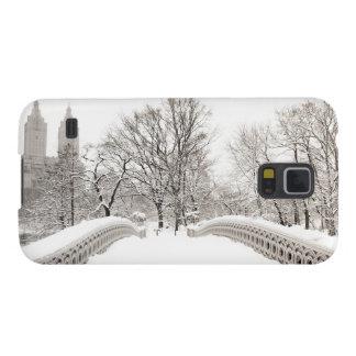 Central Park Winter Romance - Bow Bridge Galaxy S5 Covers