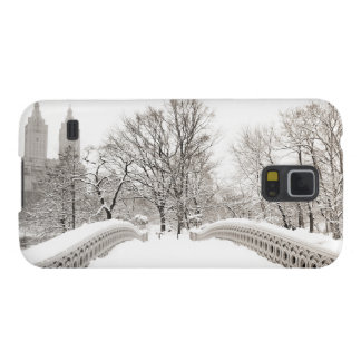 Central Park Winter Romance - Bow Bridge Case For Galaxy S5
