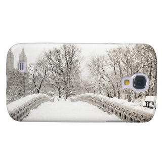 Central Park Winter Romance - Bow Bridge Galaxy S4 Cover