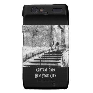 Central Park Winter Snow Landscape Photo Motorola Droid RAZR Case