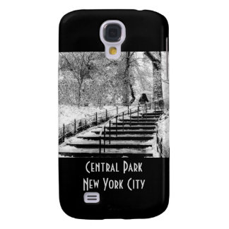Central Park Winter Snow Landscape Photo Galaxy S4 Cover